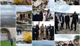 خير تفقد أضرار التلوث النفطي: نأمل ان ننتهي من تنظيف الشاطئ قبل الصيف