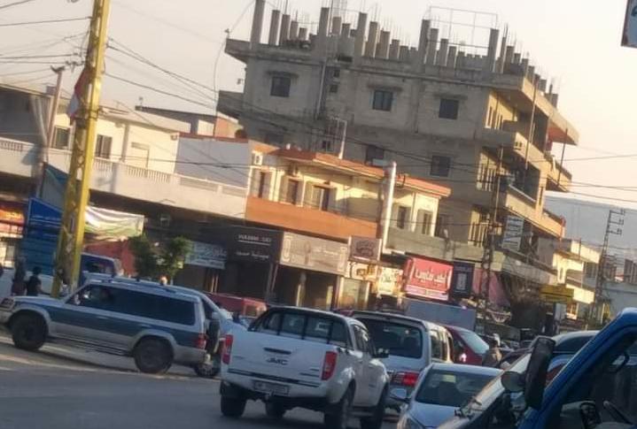 قطع طريقي حلبا القبيات والعبدة حلبا