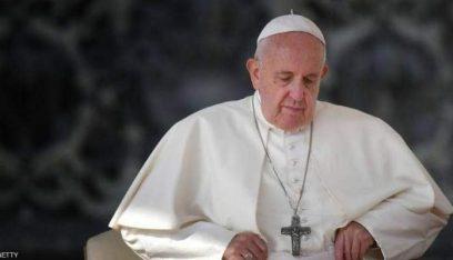 البابا يحضر قداسا في كنيسة مار يوسف للسريان الكاثوليك بالعراق