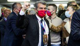 """""""لابورتا"""" رئيساً لبرشلونة"""