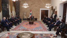 الرئيس عون: نسعى لتأليف حكومة لنتمكن من خلالها التفاوض مع المؤسسات المالية