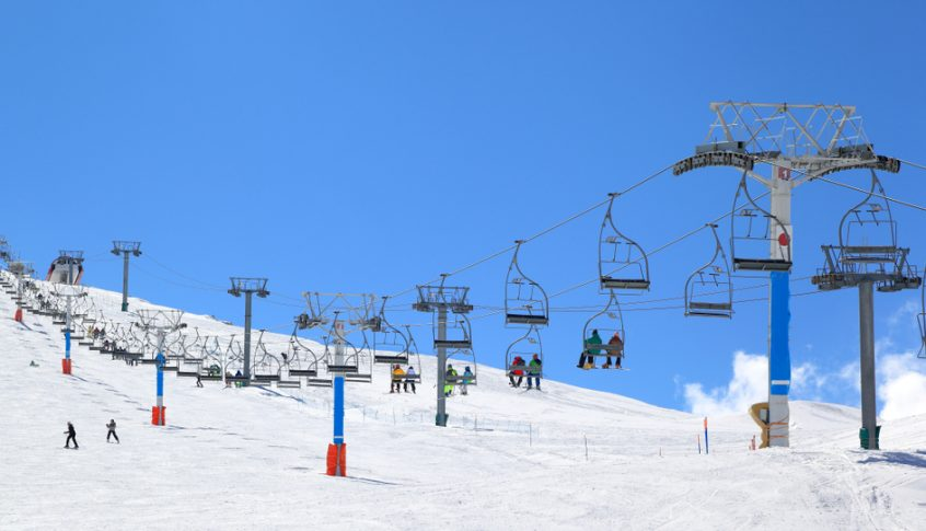 Mzaar Ski Resort تنهي الموسم لهذا العام