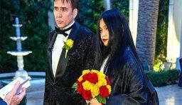 نيكولاس كيج يخوض تجربة الزواج للمرة الخامسة..