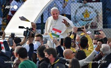 البابا فرنسيس من أربيل: مقتنع بأن الأخوّة أقوى من صوت الكراهية والعنف