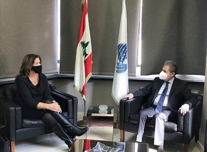 شيا: نحاول مساعدة الشعب اللبناني على معالجة الاوضاع الاقتصادية الصعبة التي يمر بها