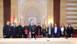 الحريري التقى وفدا من اللجنة الأسقفية للحوار المسيحي الإسلامي في لبنان
