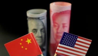 فائض الصين التجاري مع الولايات المتحدة ينخفض