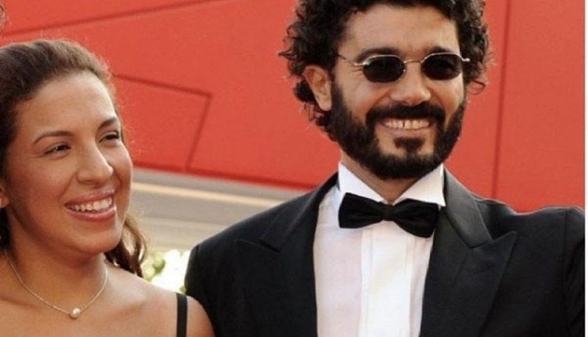 زوجة الفنان خالد النبوي: خالد تعبان أوي!