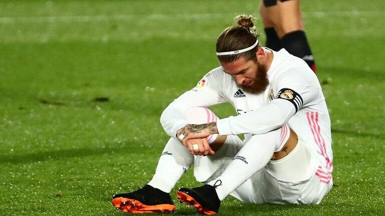 ريال مدريد يعلن إصابة راموس بكورونا