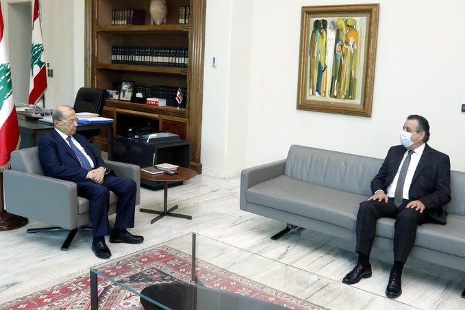 الرئيس عون استقبل النائب روجيه عازار وعرض معه شؤوناً عامة
