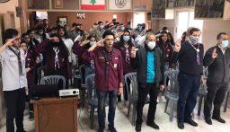 احتفال لكشاف الشباب الوطني في طرابلس بحلول رمضان