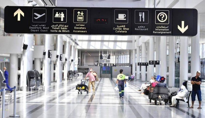 الصحة: 73 إصابة على متن رحلات وصلت إلى بيروت السبت الماضي