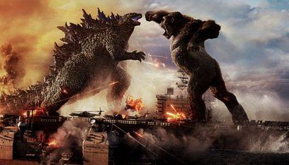 """""""غودزيلا يواجه كينغ كونغ"""" يحقق رقمًا قياسيًا لأفلام عصر الوباء"""