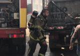 حريق داخل شقة و3 سيارات في بيت شباب