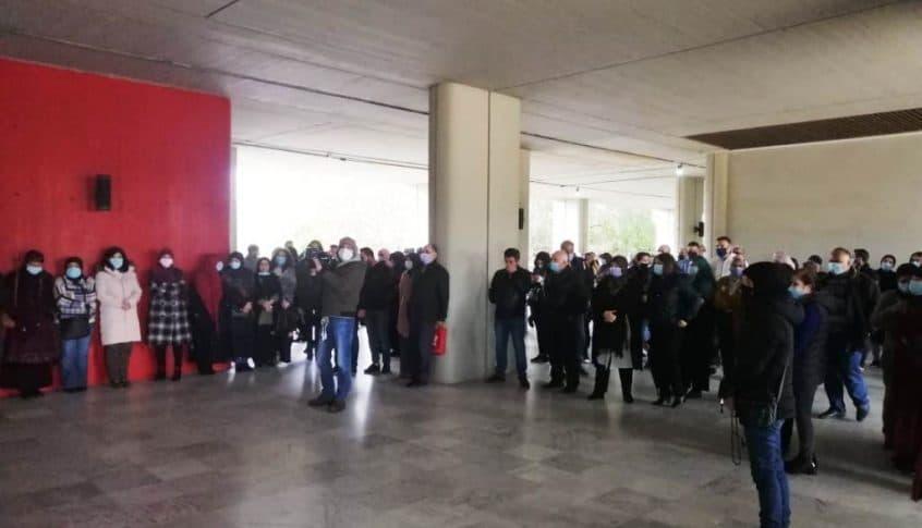 اعتصام لرابطة العاملين في الجامعة اللبنانية -الحدث