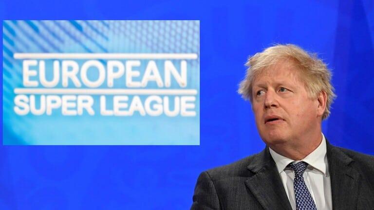 جونسون يشيد بالانسحاب الجماعي من مشروع السوبر الأوروبي