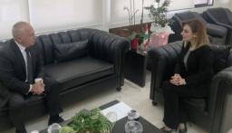 سفير ارمينيا زار اوهانيان وبحثا في التعاون