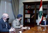 الرئيس عون عرض مع الماريشال مارتن سامبسون العلاقات اللبنانية – البريطانية