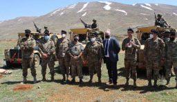 الجيش: زيارة وفد بريطاني إلى فوج الحدود البرية الرابع