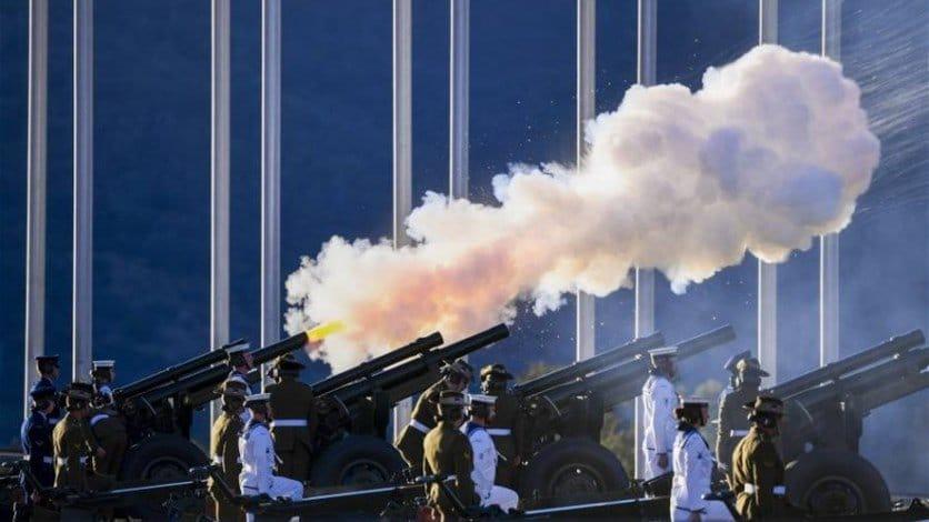 إطلاق المدفعية في جميع أنحاء بريطانيا تكريما للأمير فيليب