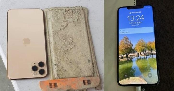 """استرجع هاتفه الذي سقط في بحيرة قبل عام.. """"ما زال يعمل""""!"""