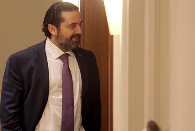 الحريري غادر مجلس النواب دون الادلاء بتصريح