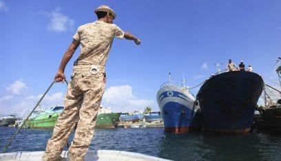 إيطاليا: قواتنا البحرية تدخلت بمواجهة خفر السواحل الليبي