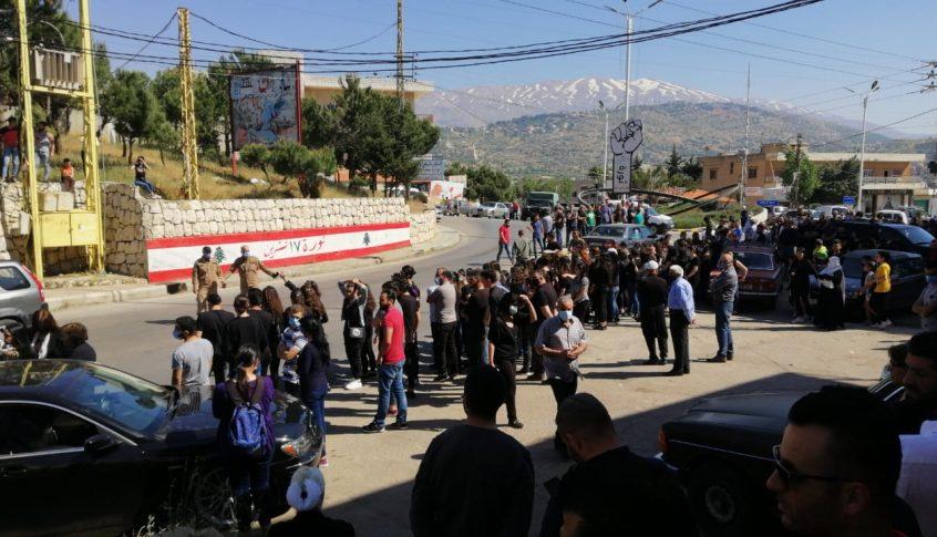 جثمان الفتاة حاطوم وصل إلى مسقط رأسها في راشيا