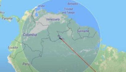 فيديو مباشر.. الأقمار الاصطناعية تتبع مسار الصاروخ الصيني حتى لحظة سقوطه