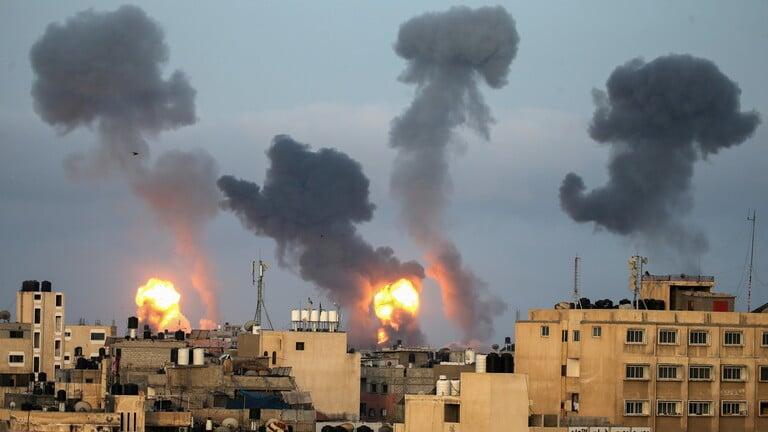 قصف كتائب القسام مطار رامون الإسرائيلي بصاروخ عاش 250