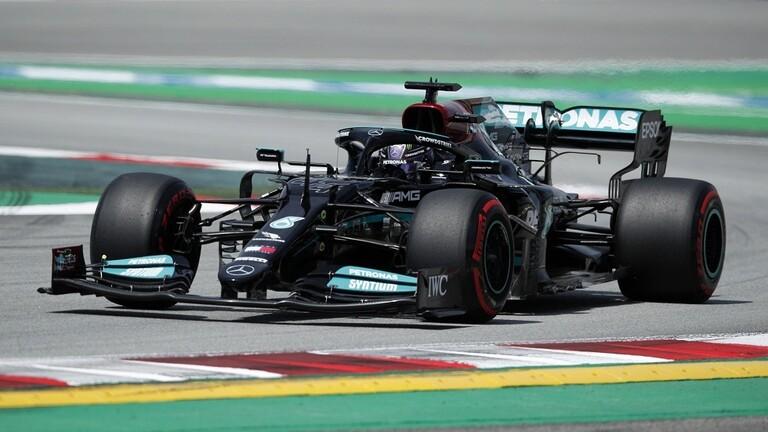 هاميلتون الأسرع في اليوم الأول لجائزة إسبانيا الكبرى للفورمولا 1
