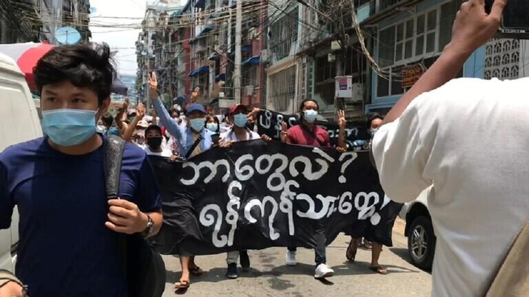 ميانمار.. انفجارات في مدن رئيسية واحتجاجات مستمرة على الانقلاب