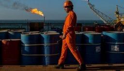 هبوط بأسعار النفط
