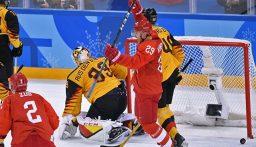 الميدالية الفضية للمنتخب الروسي في بطولة العالم لهوكي الجليد