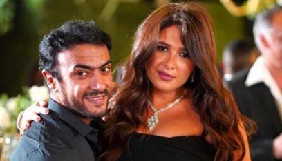 إصابة ياسمين عبد العزيز وأحمد العوضي بفيروس كورونا أثناء تصوير مسلسل رمضاني!