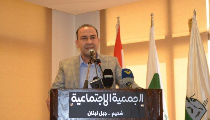 مرتضى رعى توزيع 400 الف شتلة وبذور في اقليم الخروب: المخاطرة بالعلاقات الإقتصادية مع السعودية مخاطرة بأرزاق الناس
