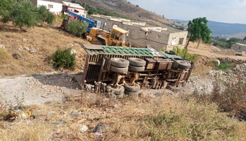 قتيل اثر حادث سير على طريق زبدين العكارية