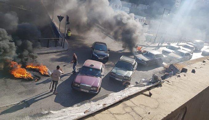 هذه الطرقات مقطوعة في طرابلس