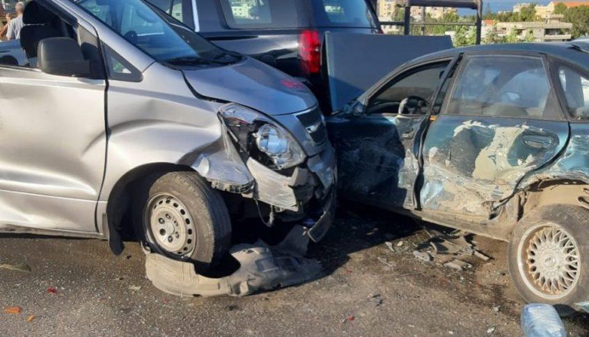 بالفيديو: حادث مرّوع على طريق السعديات