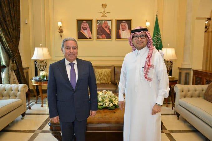 السفير السعودي استقبل المشرفية