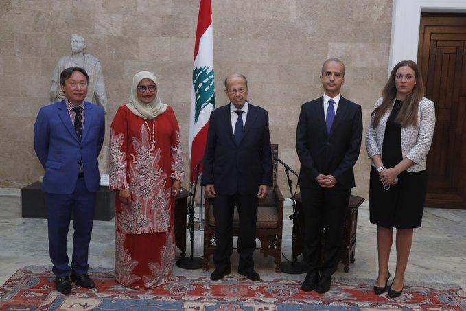 الرئيس عون اطلع على المشاريع التي ينفذها برنامج الأمم المتحدة