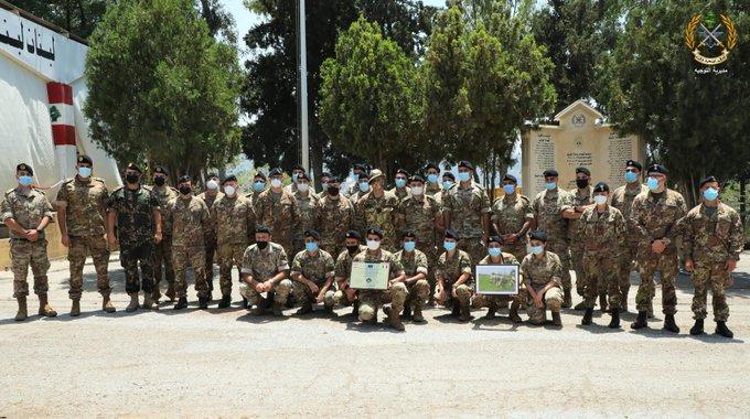 الجيش: حفل تقديم شهادة كفاءة (FOC) لسرية الوقاية من اسلحة الدمار الشامل في فوج الهندسة