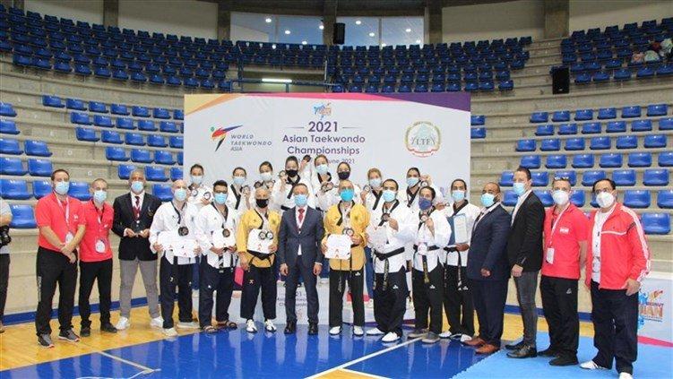 13 ميدالية للبنان في بطولة آسيا بالتايكواندو