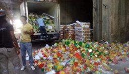 توضيح من وزارة الاقتصاد بشأن تلف 20 طن من حليب الأطفال