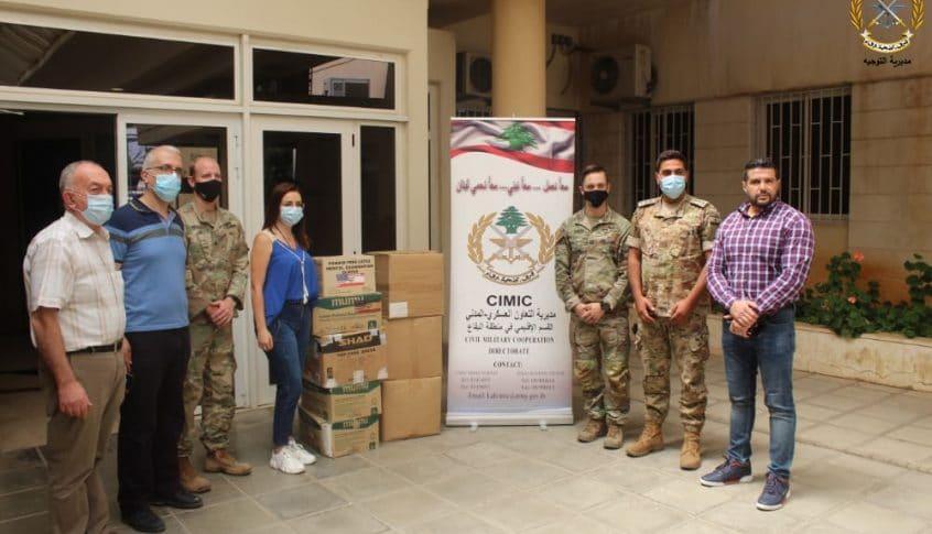 هبة من السلطات الأميركية لصالح الجيش اللبناني