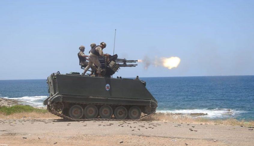 بالصور: تمرين مشترك بين الجيش وقوات الأمم المتحدة المؤقتة في لبنان