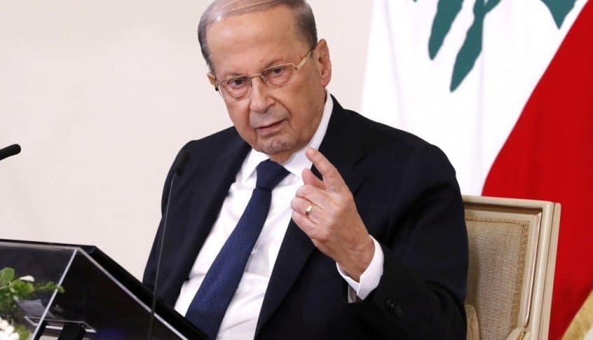معلومات المدى: الرئيس عون تواصل مع دياب وضمن توقيعه على سلفة شراء المحروقات بالعملة الأجنبية لزوم كهرباء لبنان