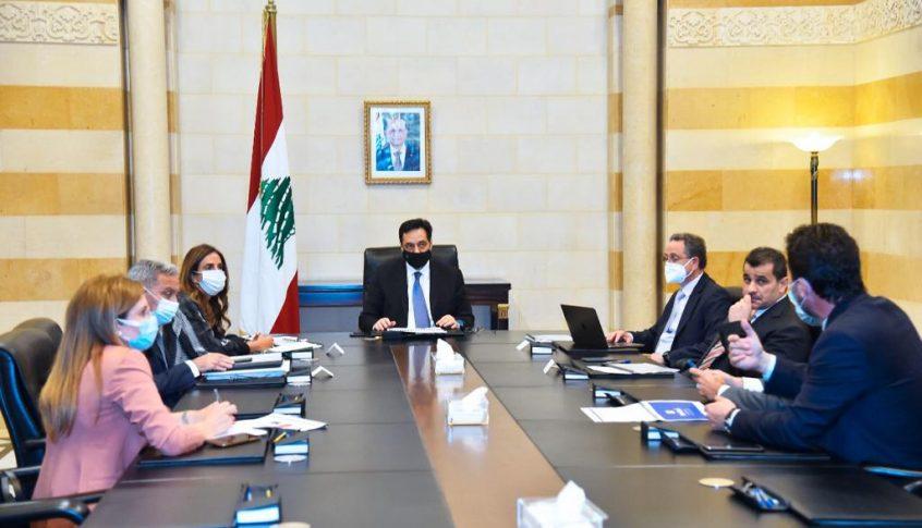 دياب ترأس اجتماعا بحث في مناقشات اللجان النيابية بشأن البطاقة التمويلية