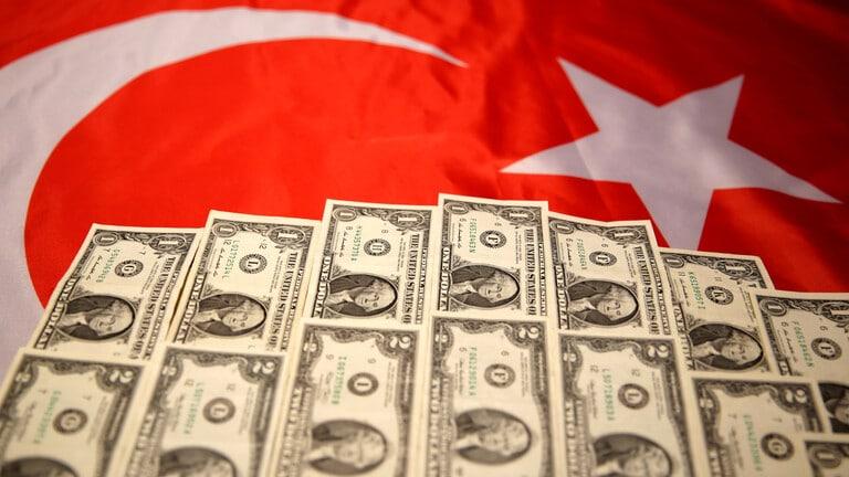 الكشف عن حجم الاحتياطيات الأجنبية لتركيا