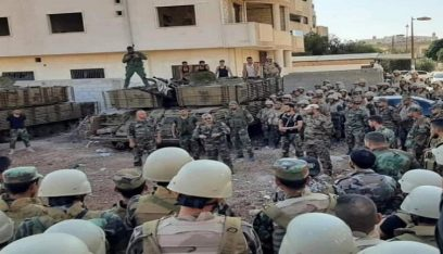 سلسلة هجمات استهدفت حواجز للجيش السوري في درعا